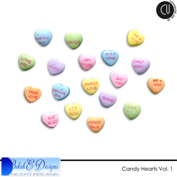 Candy Hearts Vol. 1