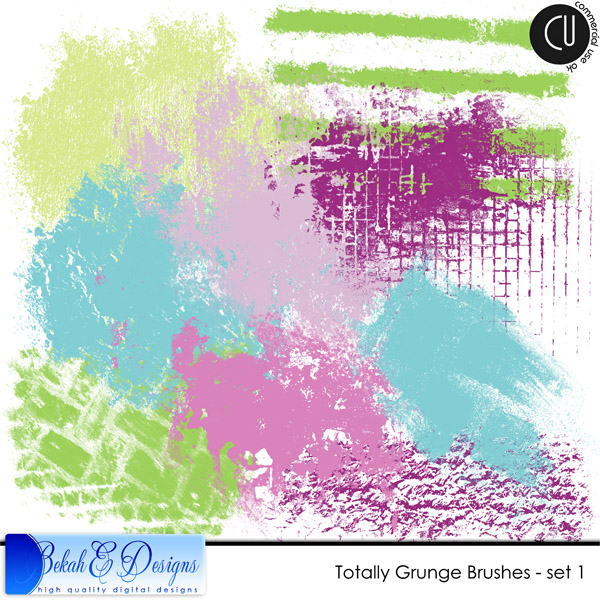 Totally Grunge Brushes - set 1